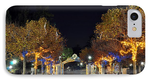 Blue And Gold Sather Gate IPhone Case