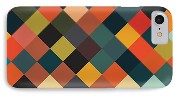 Shapes iPhone 8 Case - Bold Geometric Print by Mike Taylor