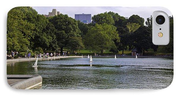 Central Park Pond IPhone Case
