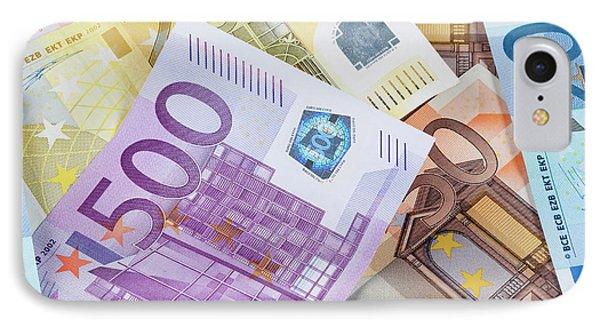 Euro - European Union Banknotes IPhone Case