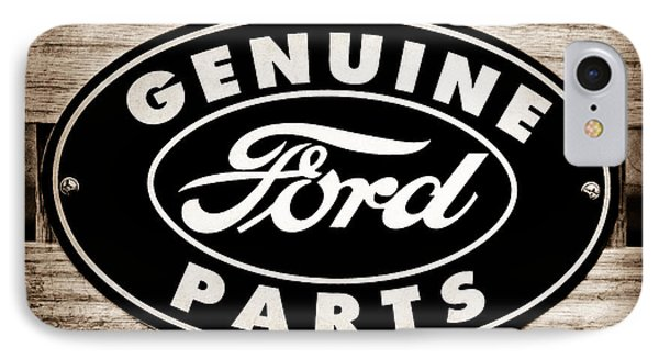 Genuine Ford Parts Sign IPhone Case