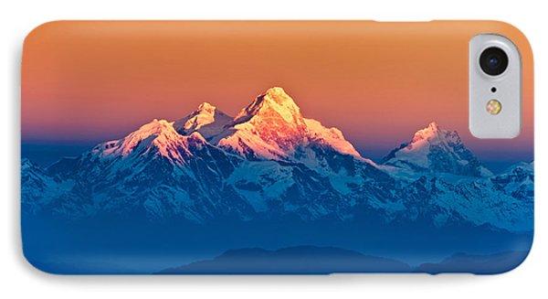 Himalayan Mountains View From Mt. Shivapuri IPhone Case