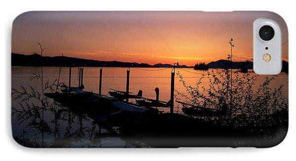 Ketchikan Alaska Harbor IPhone Case