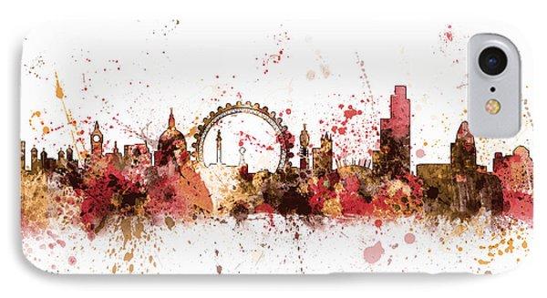 London England Skyline IPhone Case