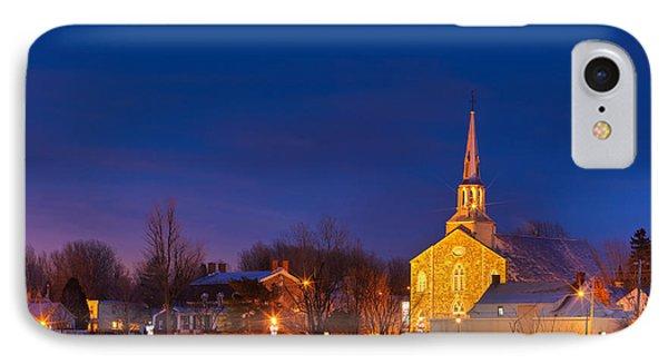 Mont Saint Hilaire Quebec Winter IPhone Case