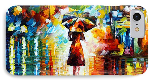 Magician iPhone 8 Case - Rain Princess by Leonid Afremov