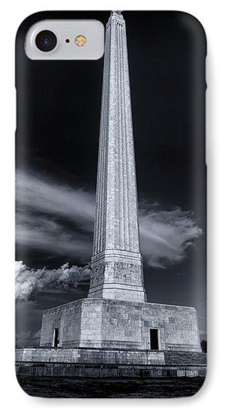 San Jacinto Monument One Sky One Star IPhone Case
