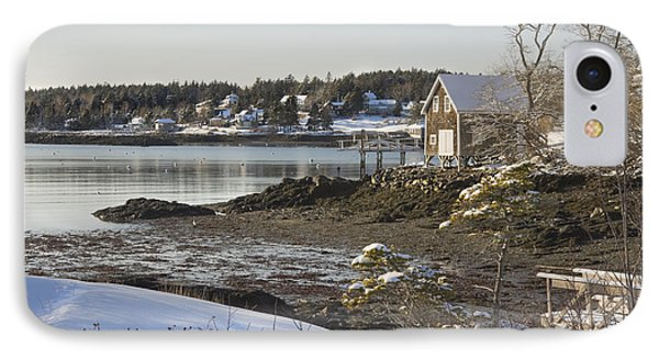 South Bristol On The Coast Of Maine IPhone Case