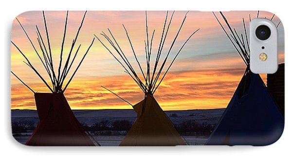 3 Teepees IPhone Case