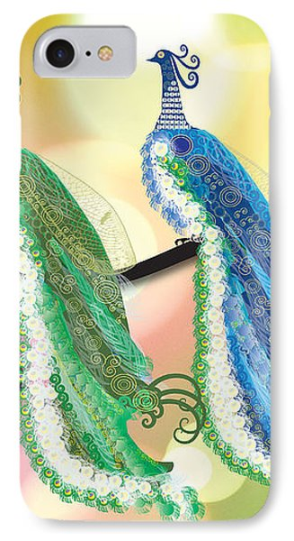 Visionary Peacocks IPhone Case