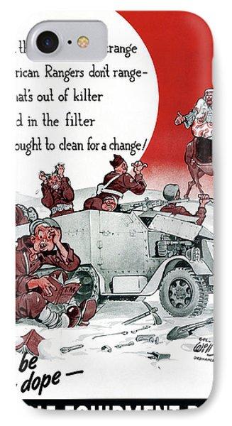 World War II Poster, 1942 IPhone Case