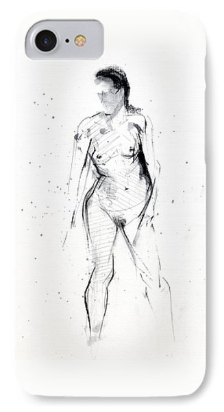 Nudes iPhone 8 Case - Rcnpaintings.com by Chris N Rohrbach
