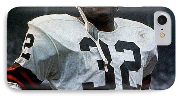 #32 Jim Brown IPhone Case