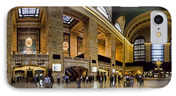 360 Panorama Of Grand Central Terminal IPhone Case