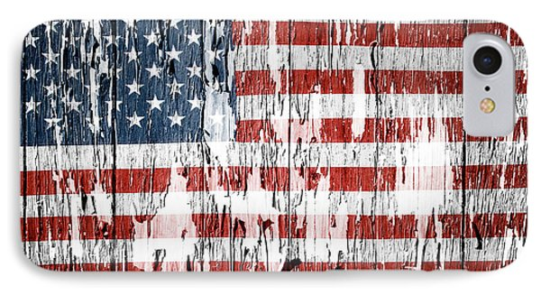 American iPhone 8 Case - American Flag 49 by Les Cunliffe