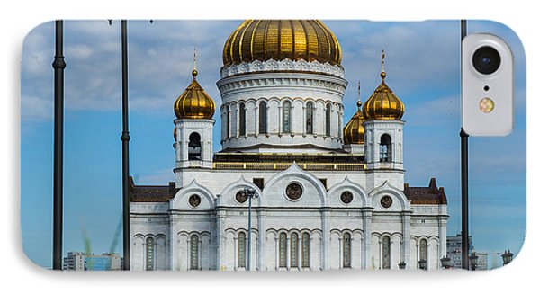 Cathedral Of Christ The Savior Of Moscow - Russia - Featured 3 IPhone Case