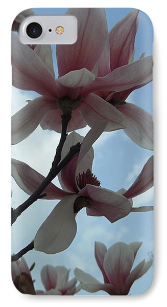 Magnolia Flowers IPhone Case