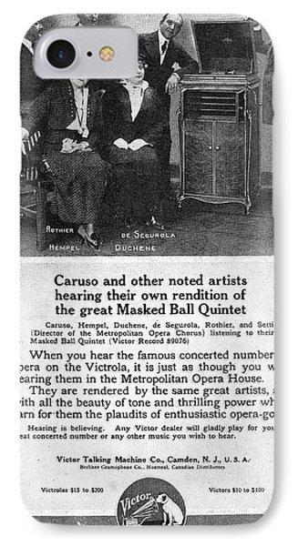 Phonograph, 1914 IPhone Case