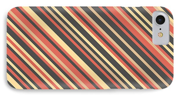 Fruit iPhone 8 Case - Striped Pattern by Mike Taylor