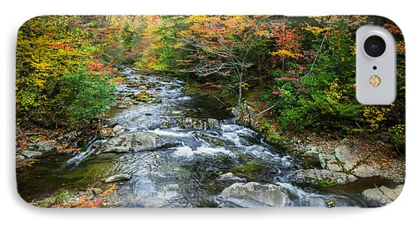 Stream Great Smoky Mountains Painted IPhone Case