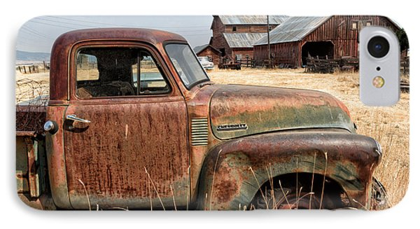 '54 Chevy Put Out To Pasture IPhone Case