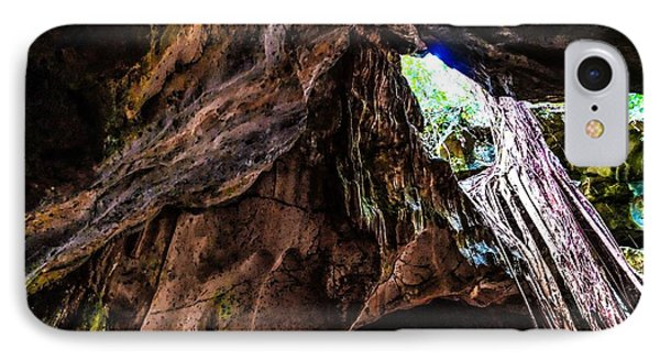 Green Grotto Caves IPhone Case