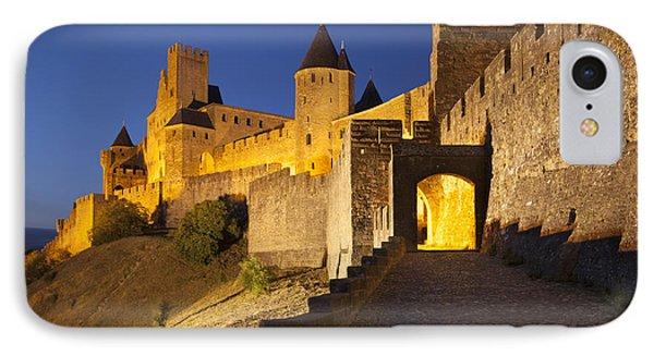 Castle iPhone 8 Case - Medieval Carcassonne by Brian Jannsen