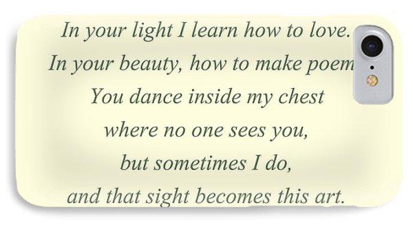 60- Rumi IPhone Case
