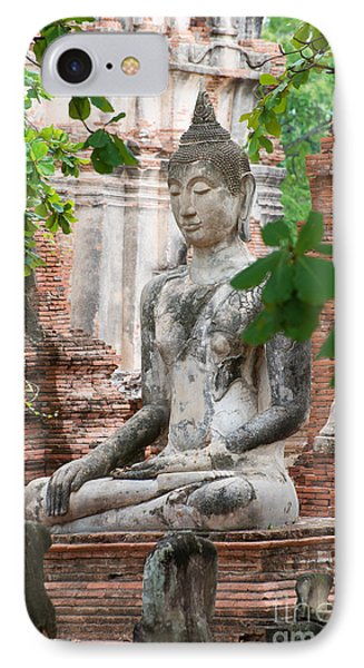Buddha Statue IPhone Case