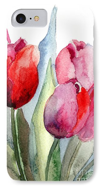 Tulips Flowers IPhone Case