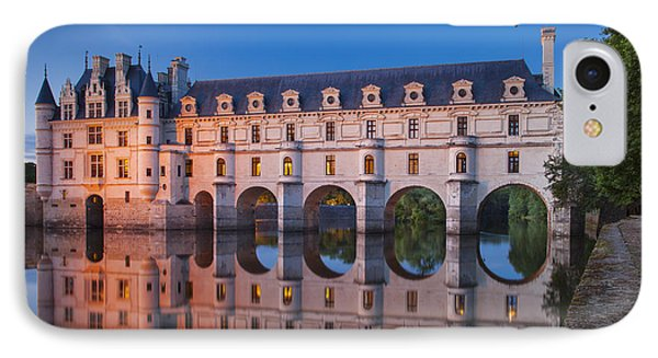 Castle iPhone 8 Case - Chateau Chenonceau by Brian Jannsen