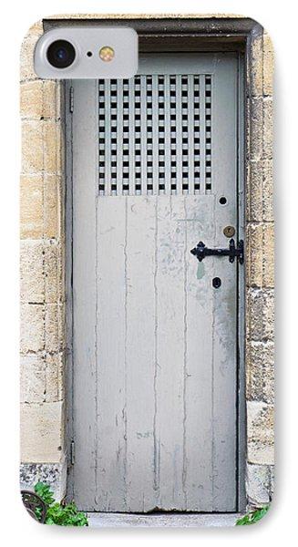 Dungeon iPhone 8 Case - Old Door by Tom Gowanlock