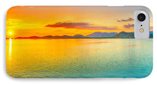 Sunset Panorama IPhone Case