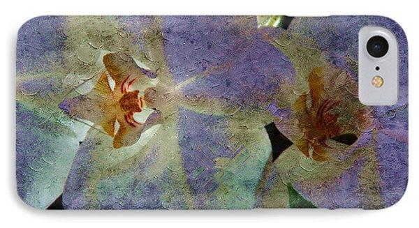 Lavender Orchids IPhone Case