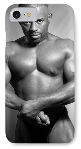 The Bodybuilder IPhone Case