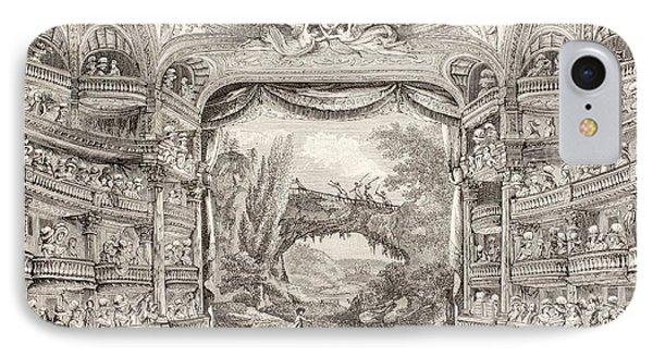 A 1789 Performance In The Theatre Des Varietes Amusantes IPhone Case