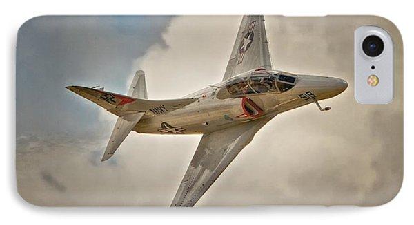 A-4 Skyhawk Skyscape IPhone Case