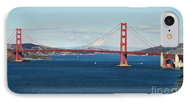 A Beautiful Day In The Bay IPhone Case
