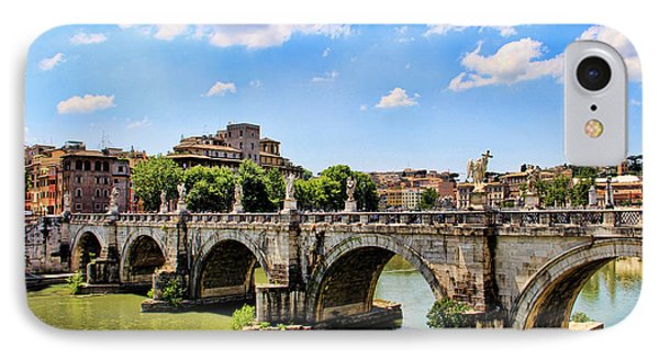 A Bridge In Rome IPhone Case