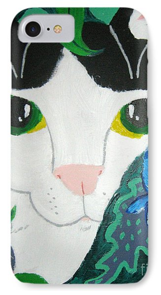 A Cat's Fancy IPhone Case