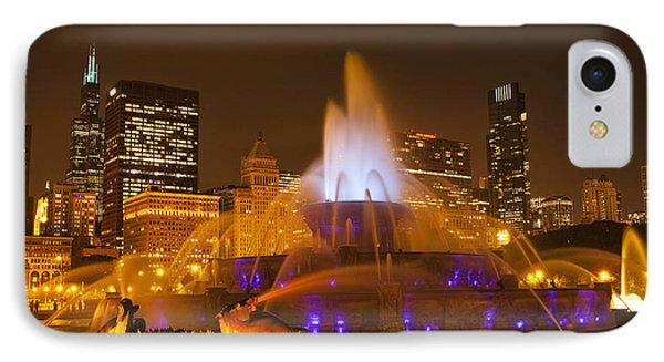 A Chicago Twilight IPhone Case