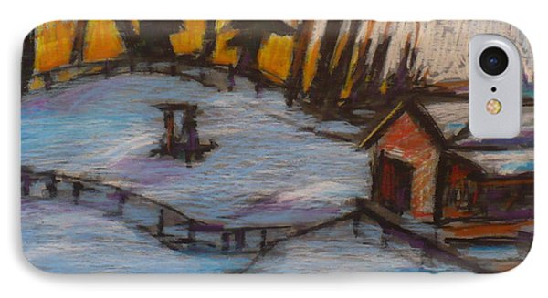 A Cold Mazeppa Morning IPhone Case