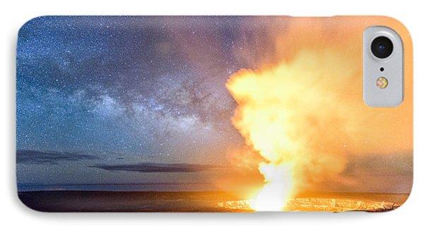 A Cosmic Fire IPhone Case