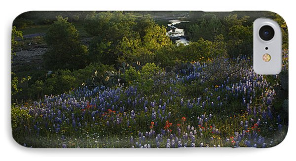 A Creek In Llano County  IPhone Case