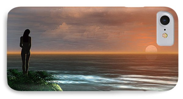 A Day Ends IPhone Case