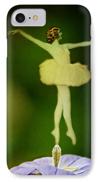 A Fairy In The Garden IPhone Case