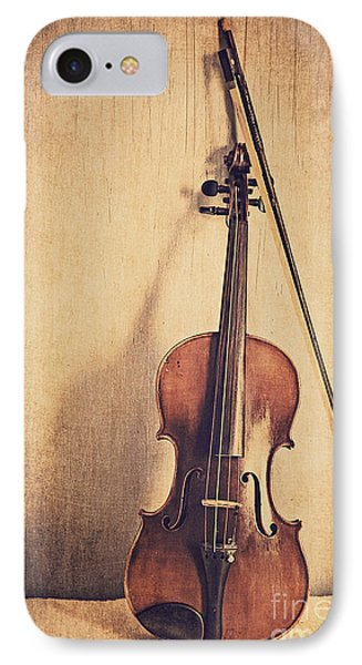 Violin iPhone 8 Case - A Fiddle by Emily Kay