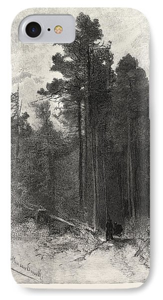 A Forest Pathway, Canada IPhone Case