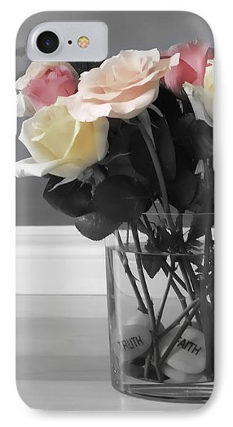 Rose iPhone 8 Case - A Foundation Of Love by Cathy Beharriell