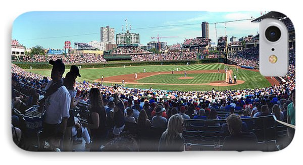 A Great Day At Wrigley Field IPhone Case